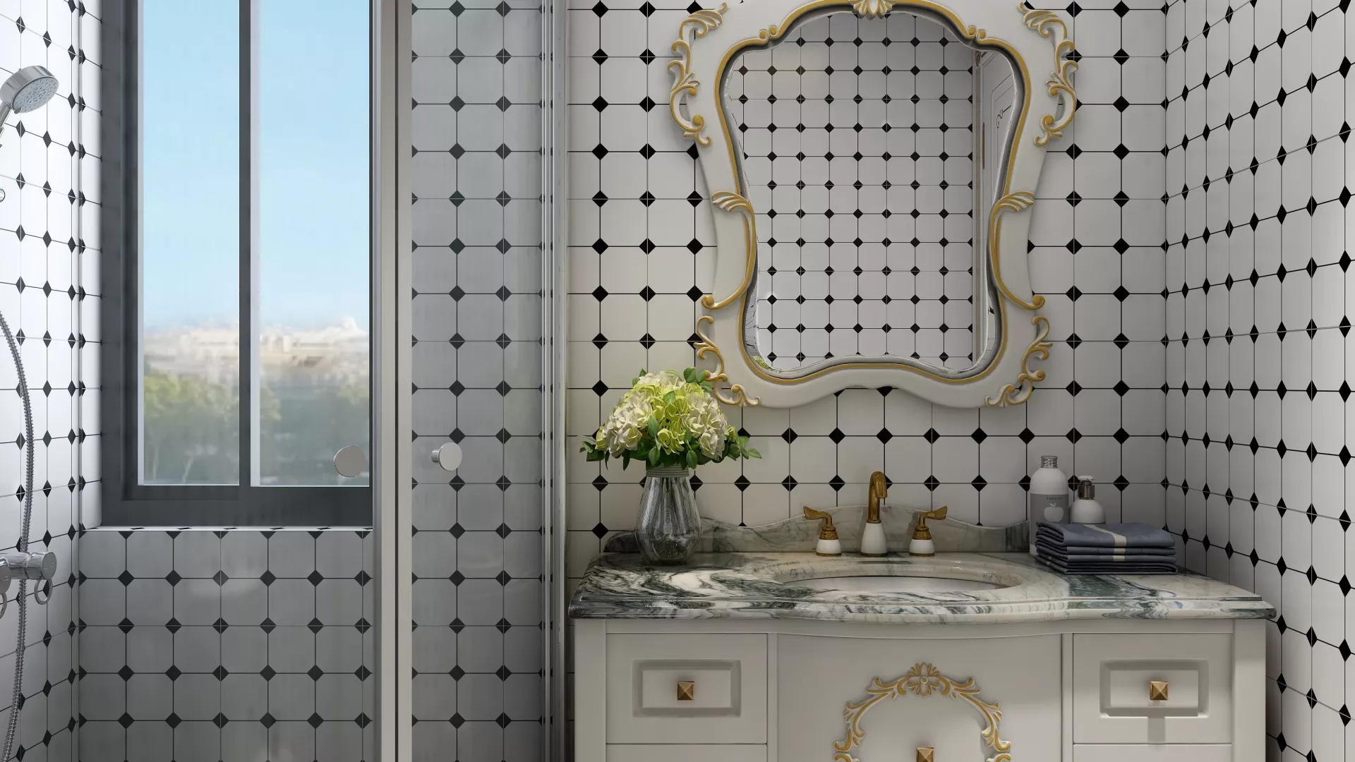 瓷砖怎么拼花 瓷砖清洗注意事项