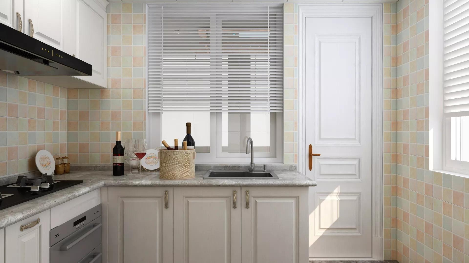 厨房光线暗怎么装修 厨房装修设计案例