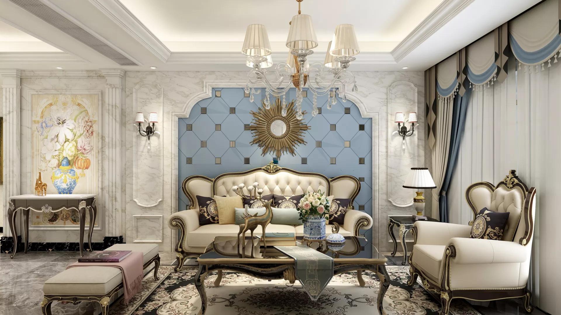 客厅飘窗装修用什么材料好及窗帘搭配技巧