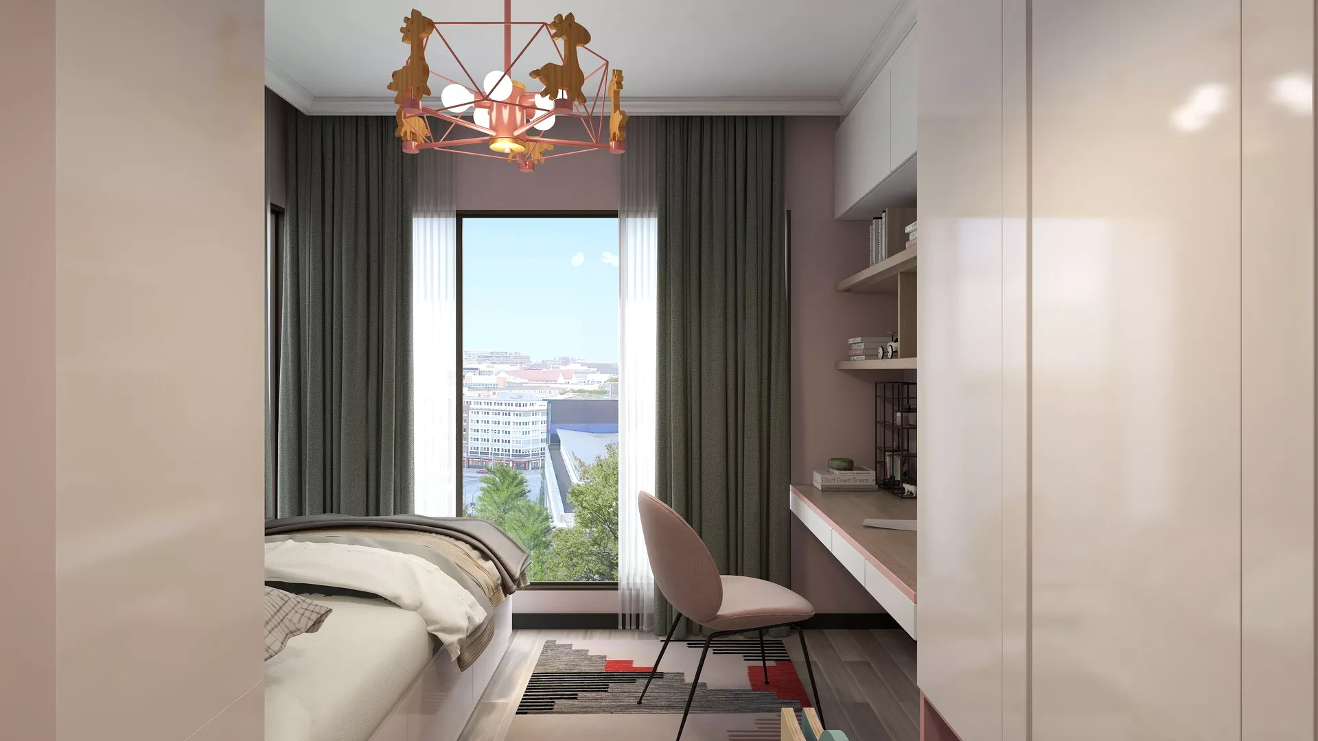 25万打造140平米现代中式风格的家