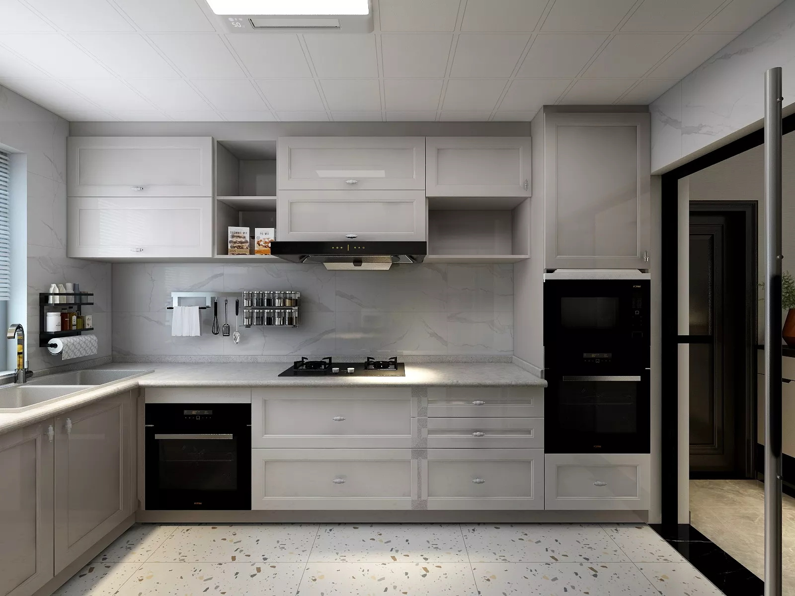 宜家风格的整体厨房有哪些优势?