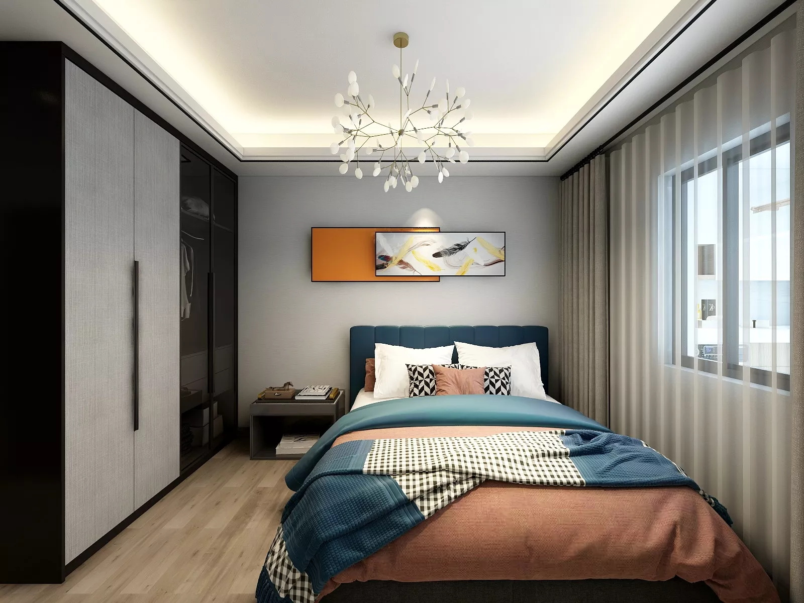 客廳沒窗戶怎么裝修,客廳裝修可以使用玻璃來隔嗎?