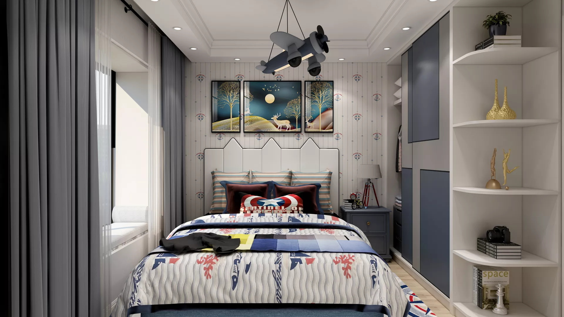 客厅电视背景墙用什么材料好 装修方式有哪些