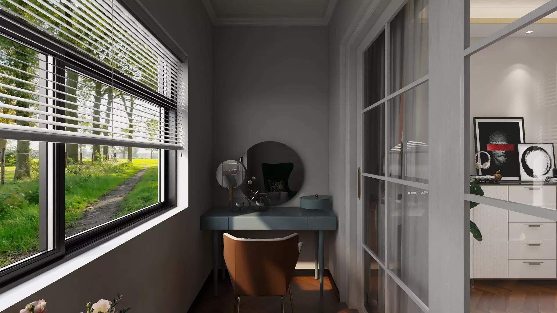现代风格露台设计实景图