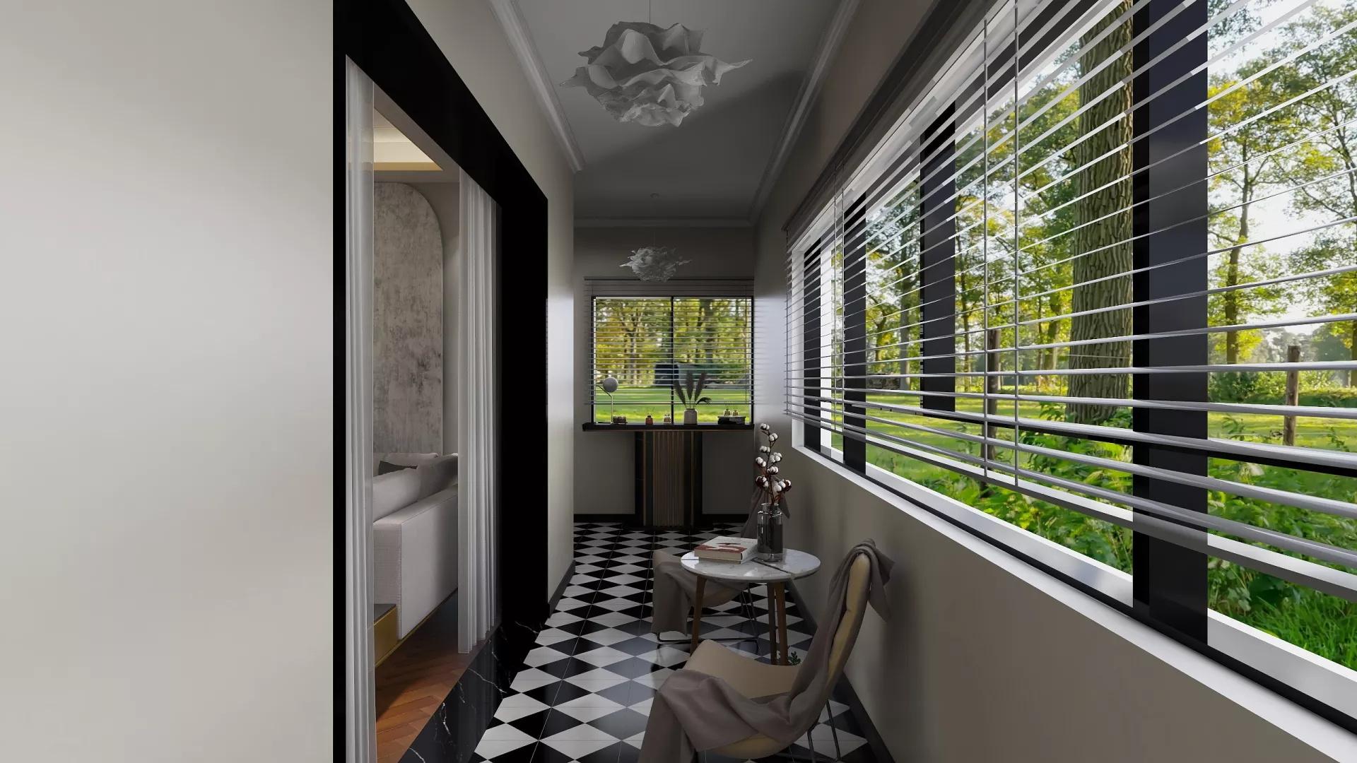 四居室大气豪华型客厅装修效果图