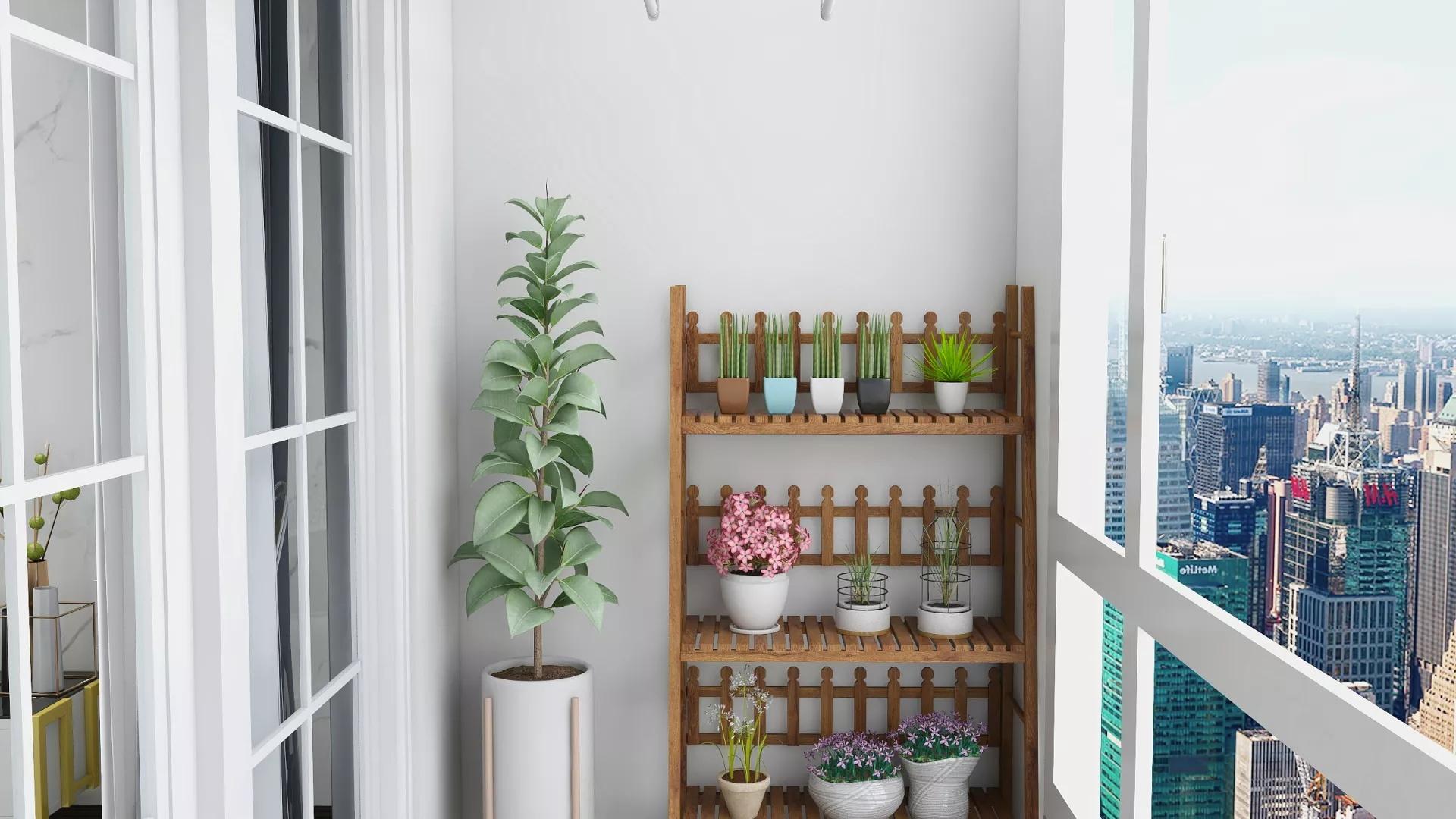 小户型公寓简约现代风装修效果图