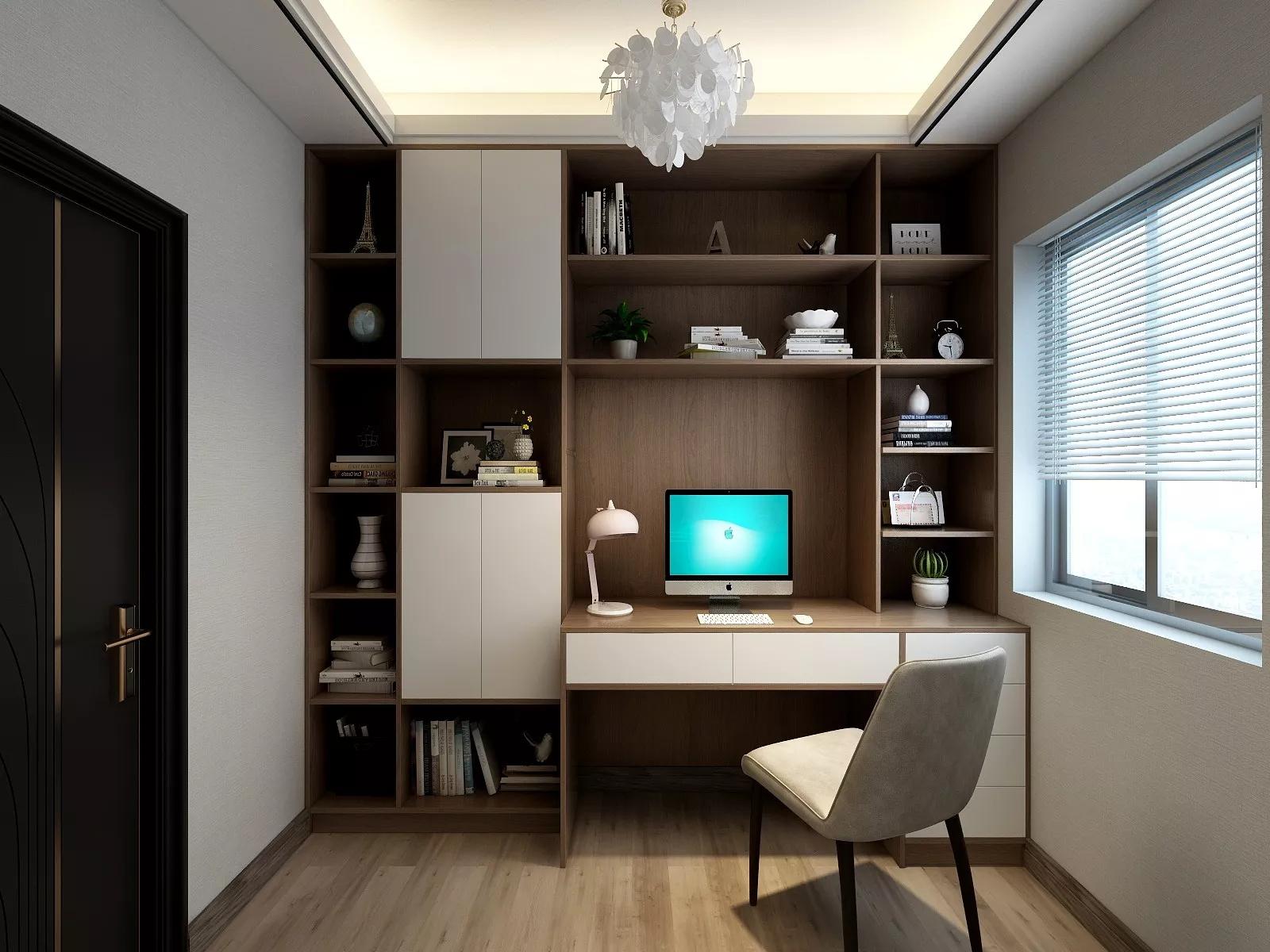 臥室書柜怎么設計?臥室書柜設計有哪些種類?