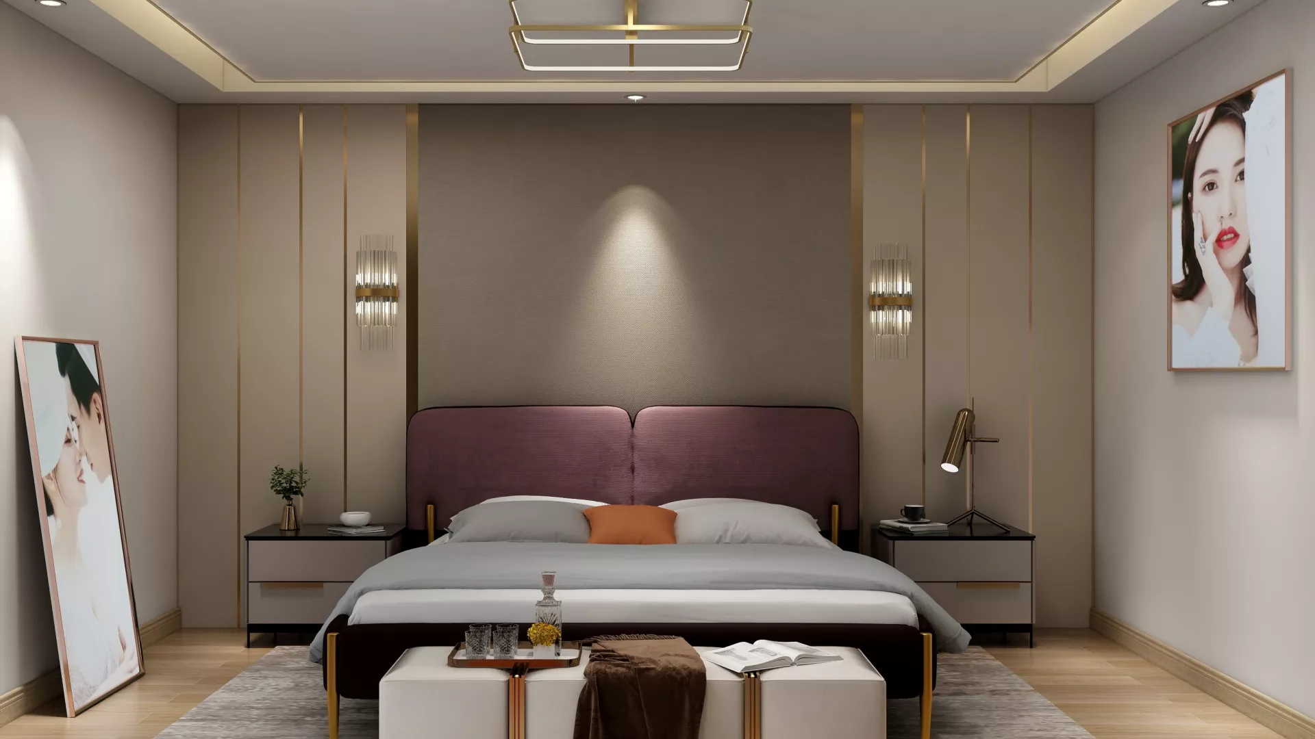 15万装修混搭风格舒适型客厅装修效果图