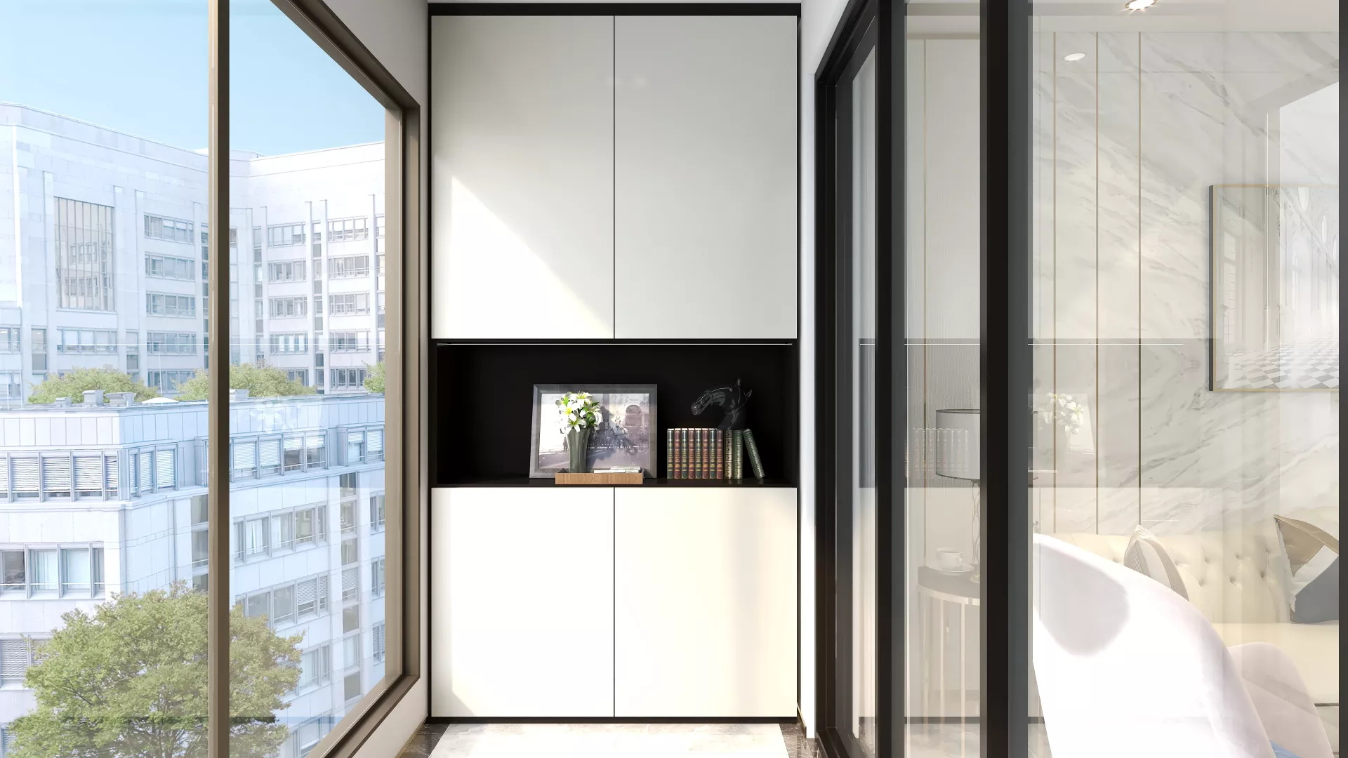 150平北欧风格卧室装修效果图
