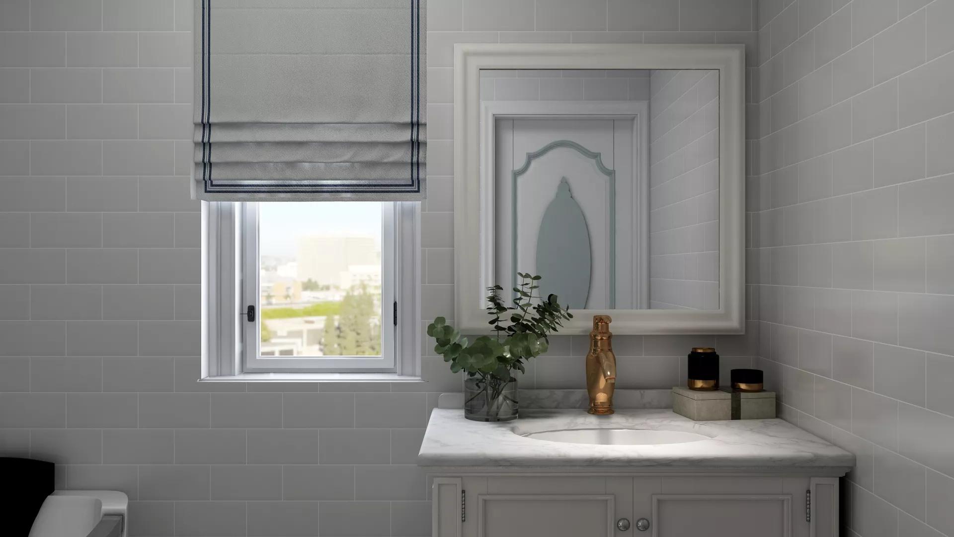 简约现代风格两居室装修效果图