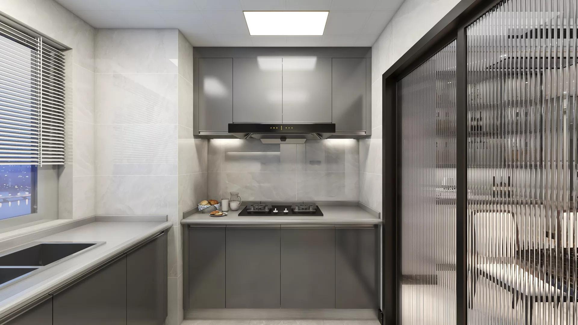 都匀文华苑-86平米-中式风格效果图案例