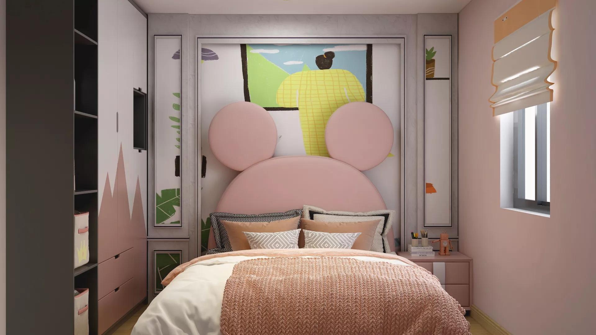 家居装修儿童房壁纸 儿童房色彩如何搭配