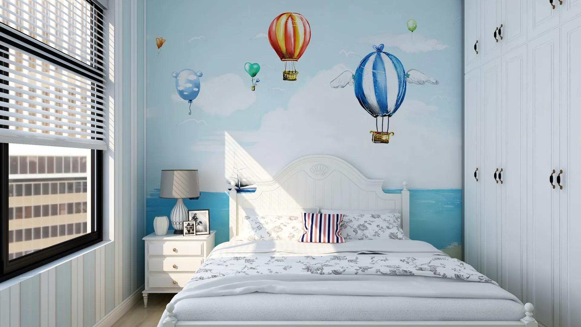 地中海风格乐活型客厅沙发装修效果图
