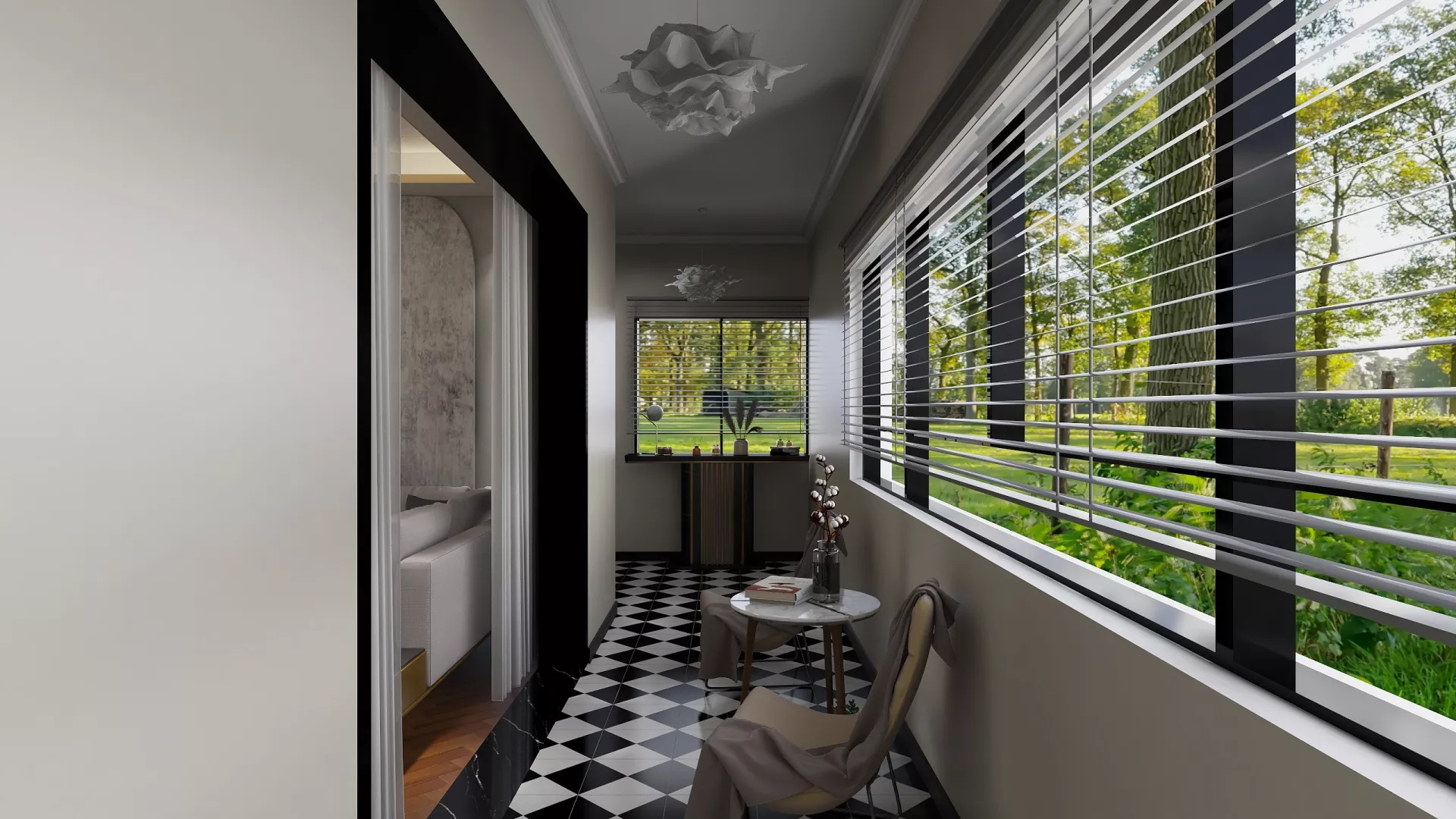 欧式风格奢华稳重型客厅装修效果图