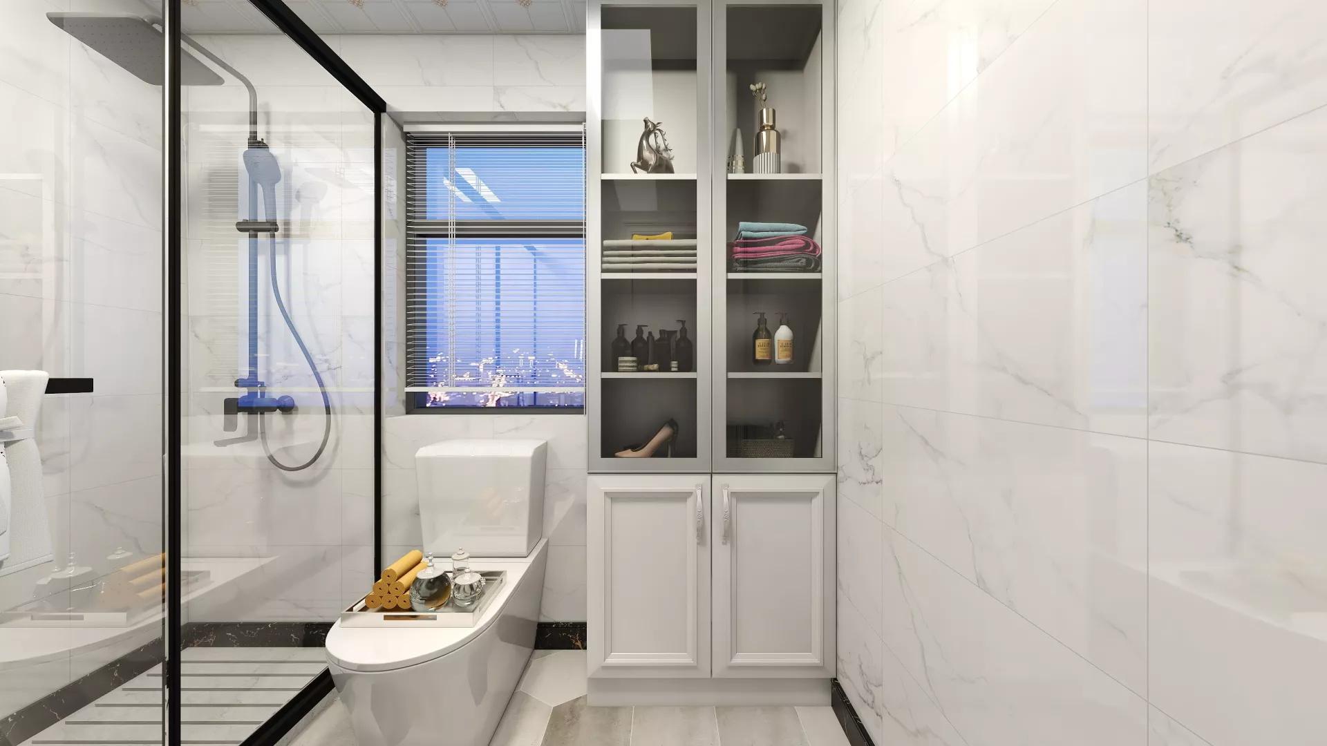 两室现代简约风格装修效果图