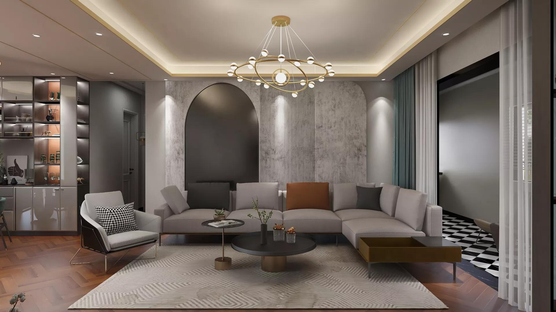 宜家风格温馨浪漫型卧室装修效果图