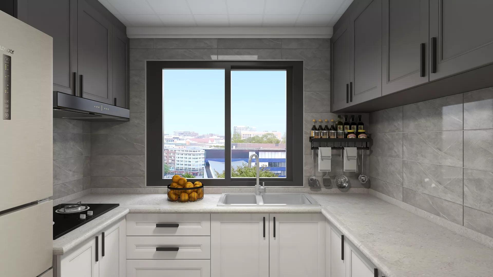 宜家风格舒适浪漫型客厅装修效果图