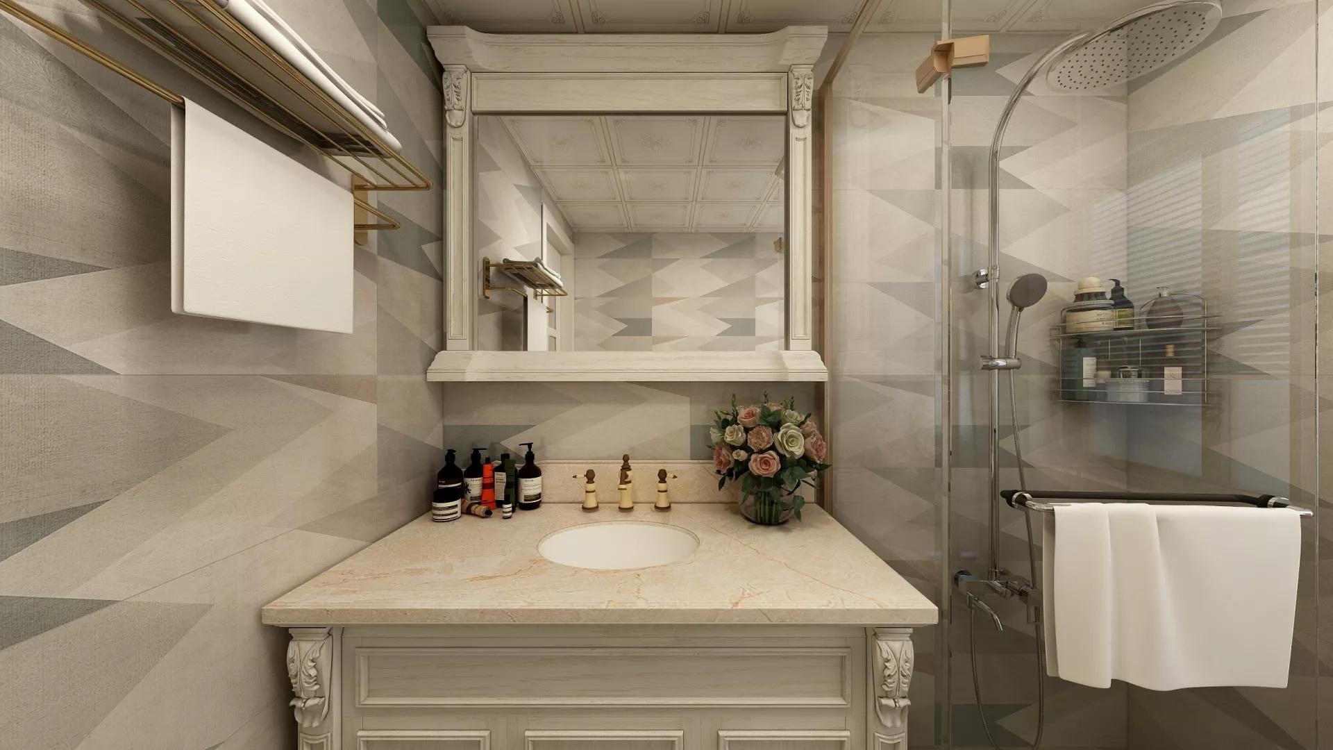 139美式别墅地下室设计效果图