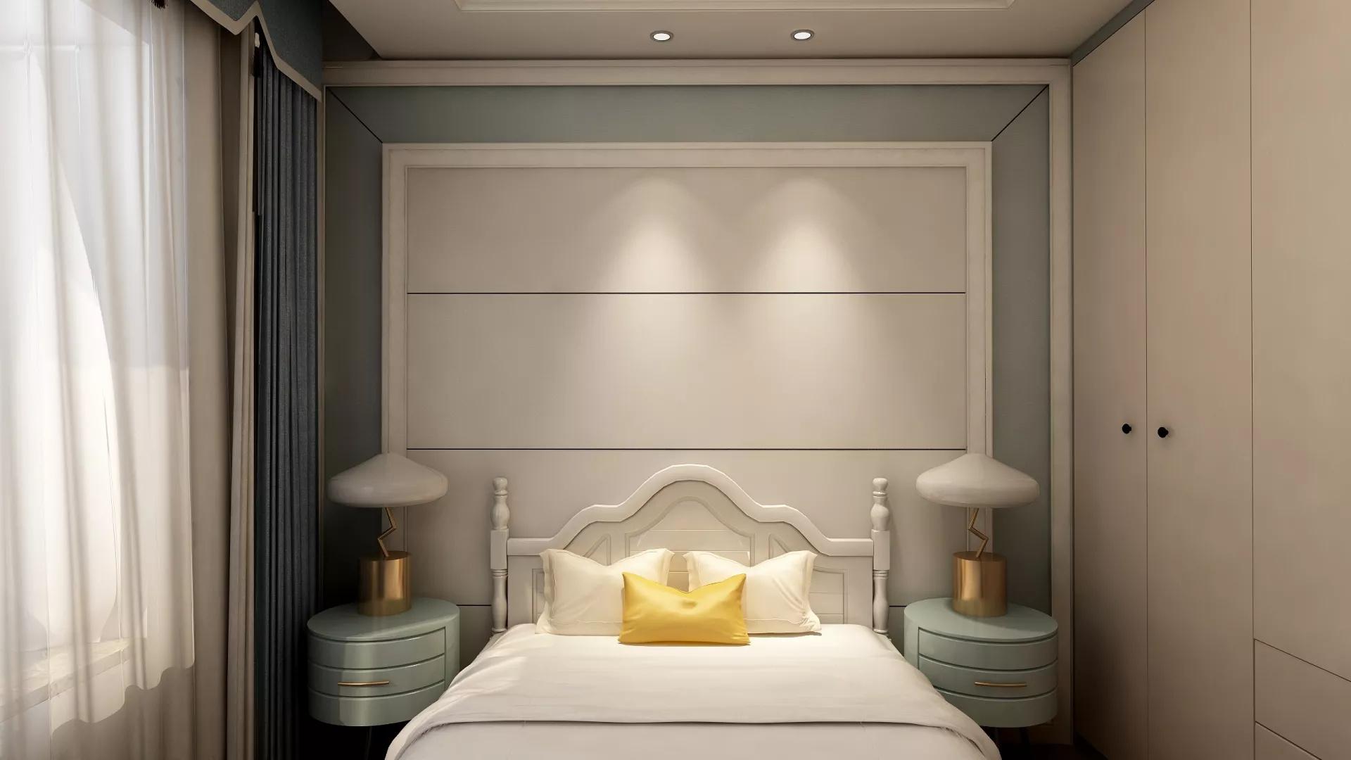 田园风格浪漫舒适型客厅装修效果图
