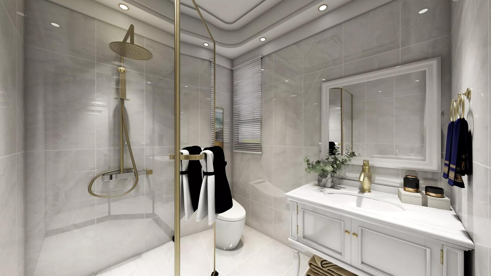美式风格温馨舒适型卧室装修效果图