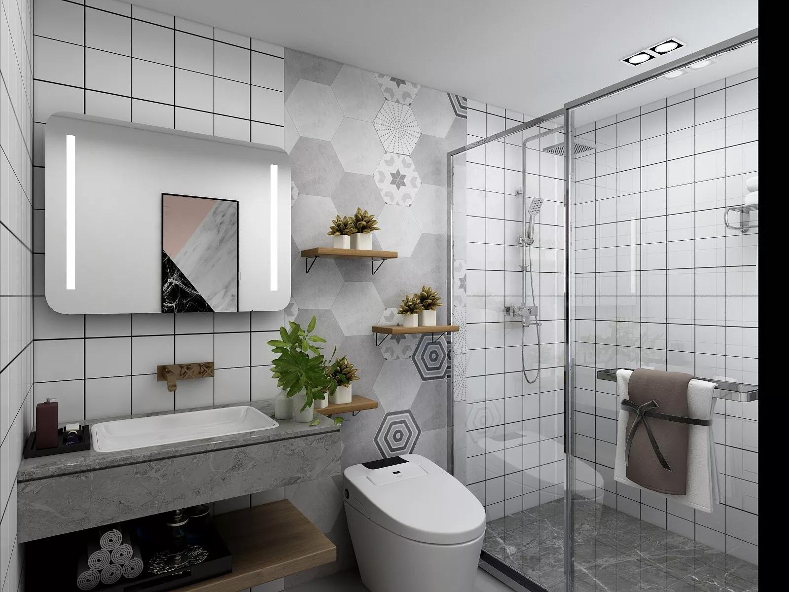 三居室走廊装修设计效果图