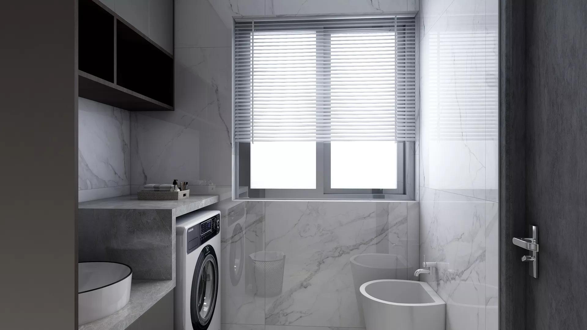 单身公寓简约实用型客厅装修效果图