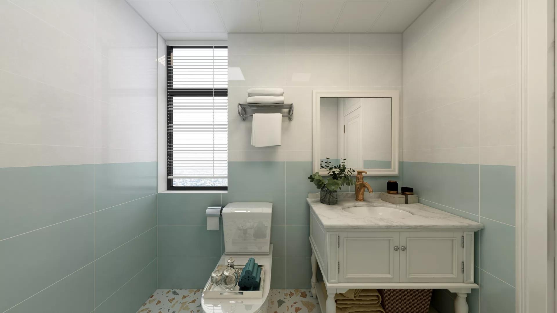 美式风格时尚唯美型客厅装修效果图