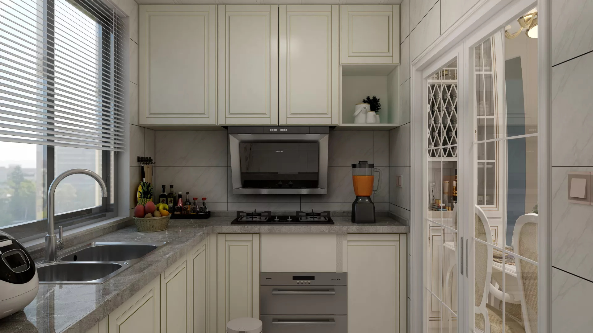 迷人的现代厨房装修