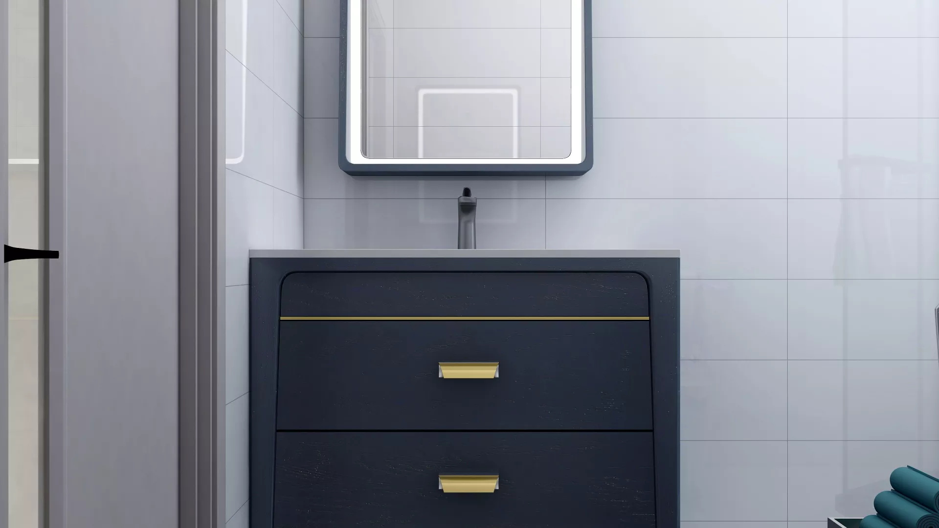 开阔空间玄关装修设计效果图