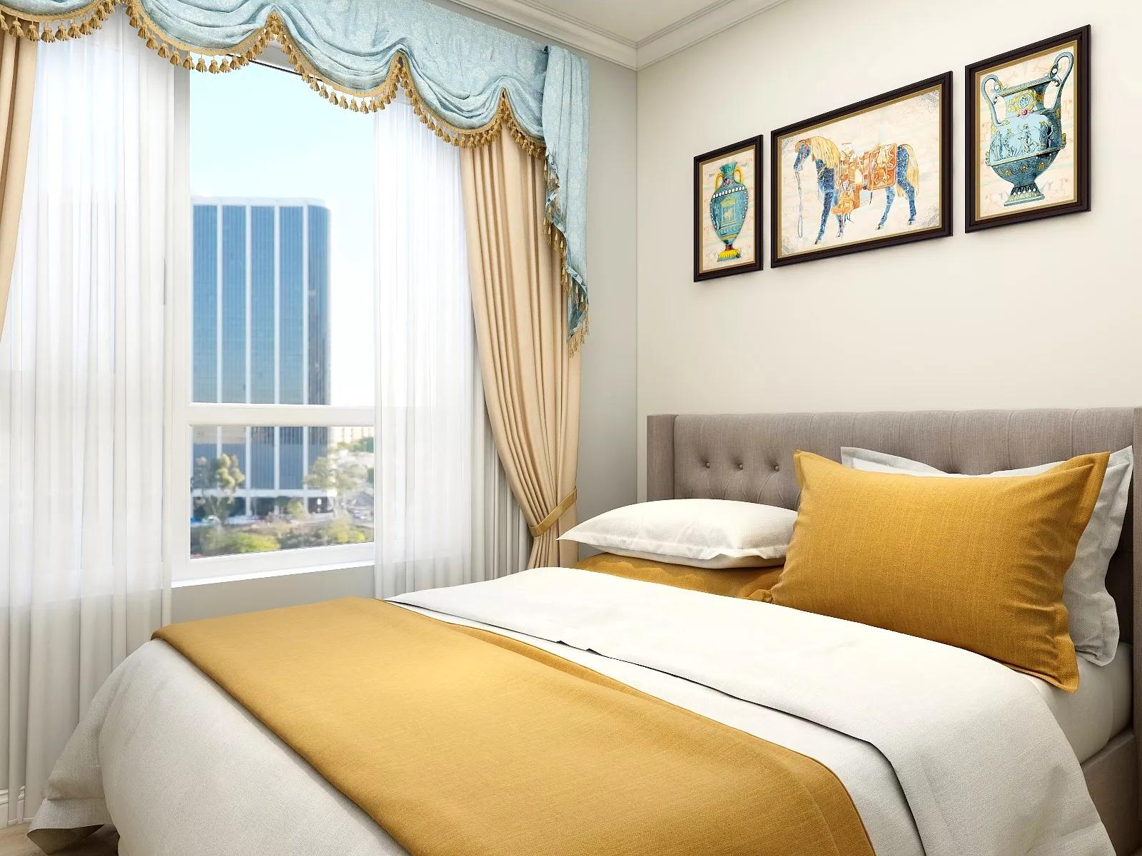 精美北欧客厅电视背景墙玄关卧室装修效果图