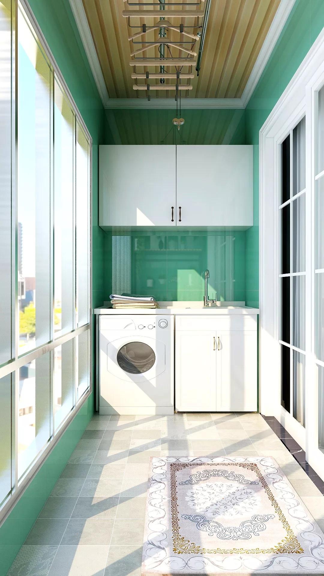 后现代混搭风开放式公寓设计装修效果图