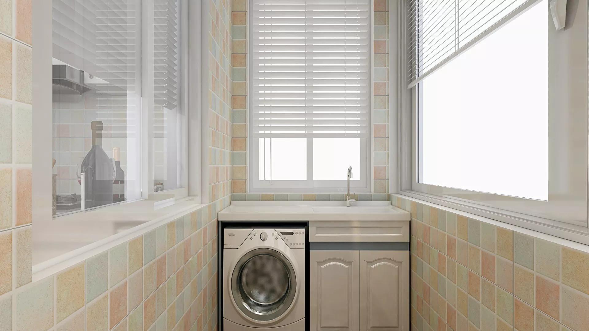 70平小户型现代中式装修风格单身公寓装修效果图
