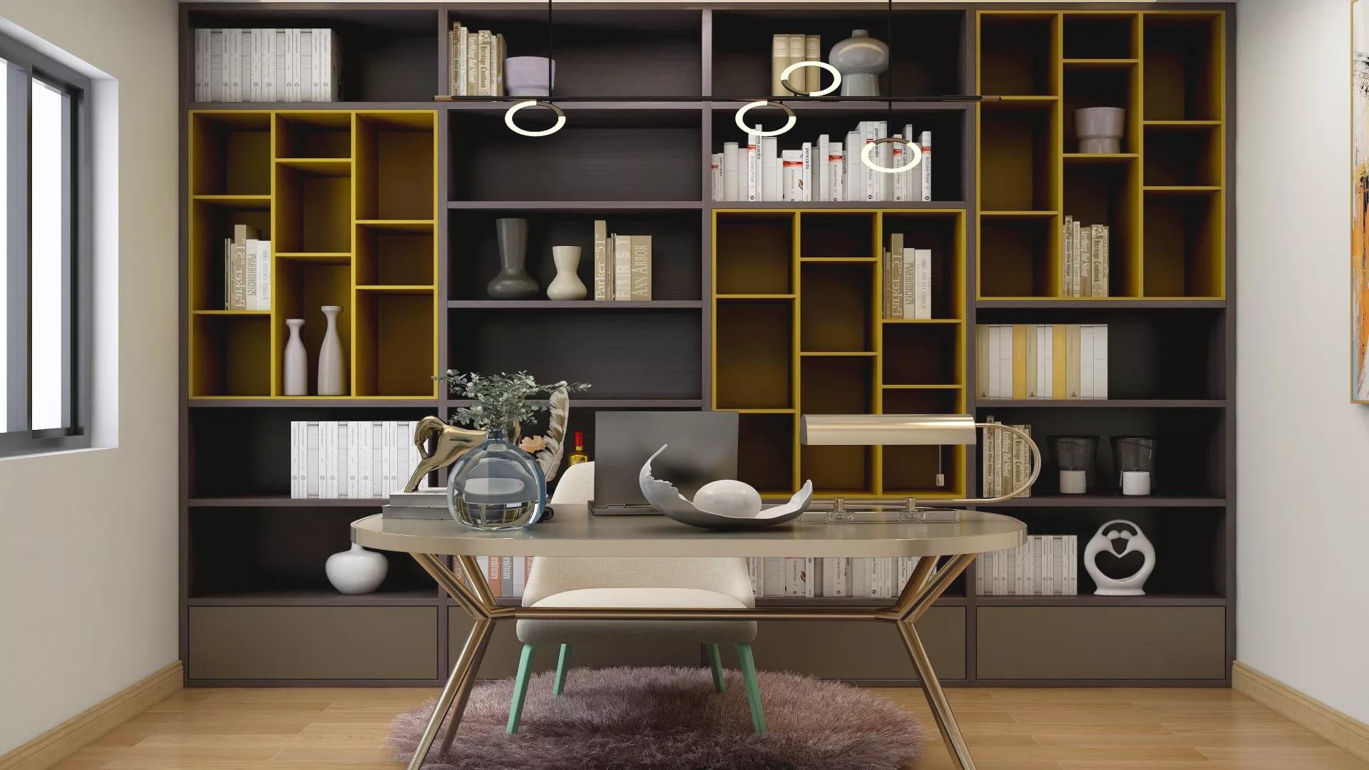 现代三居室简约温馨装修效果图
