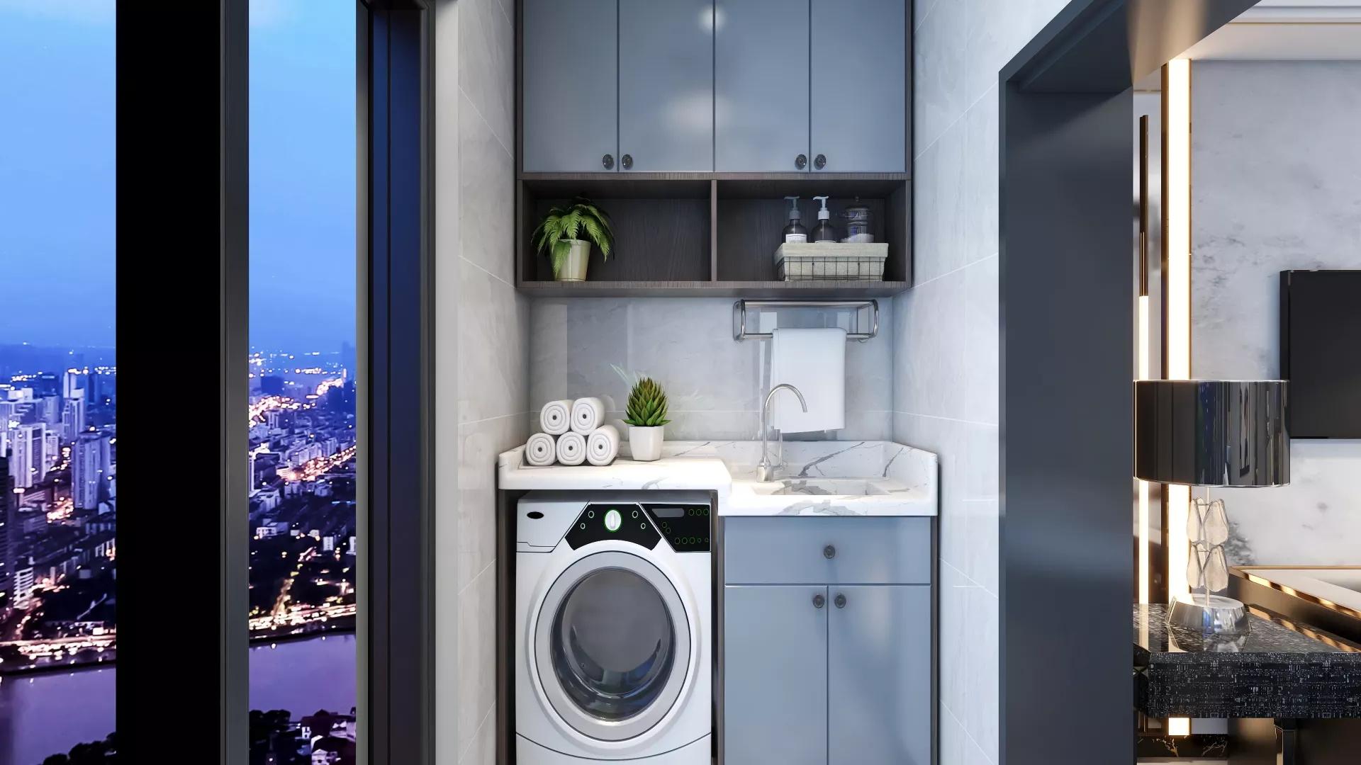 125平现代简约风格三居室装修设计效果图