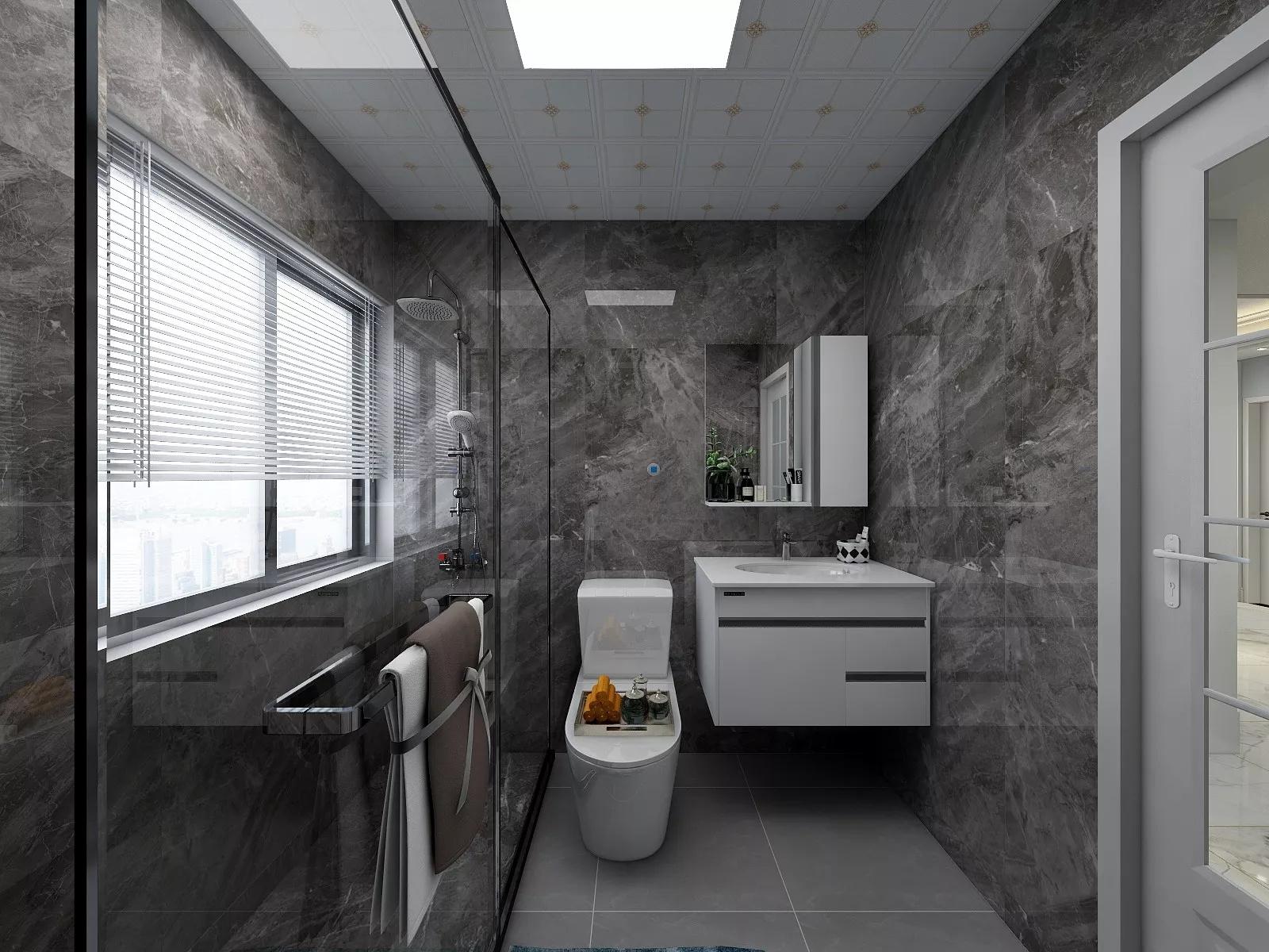 140平现代简约装修风格家居设计效果图