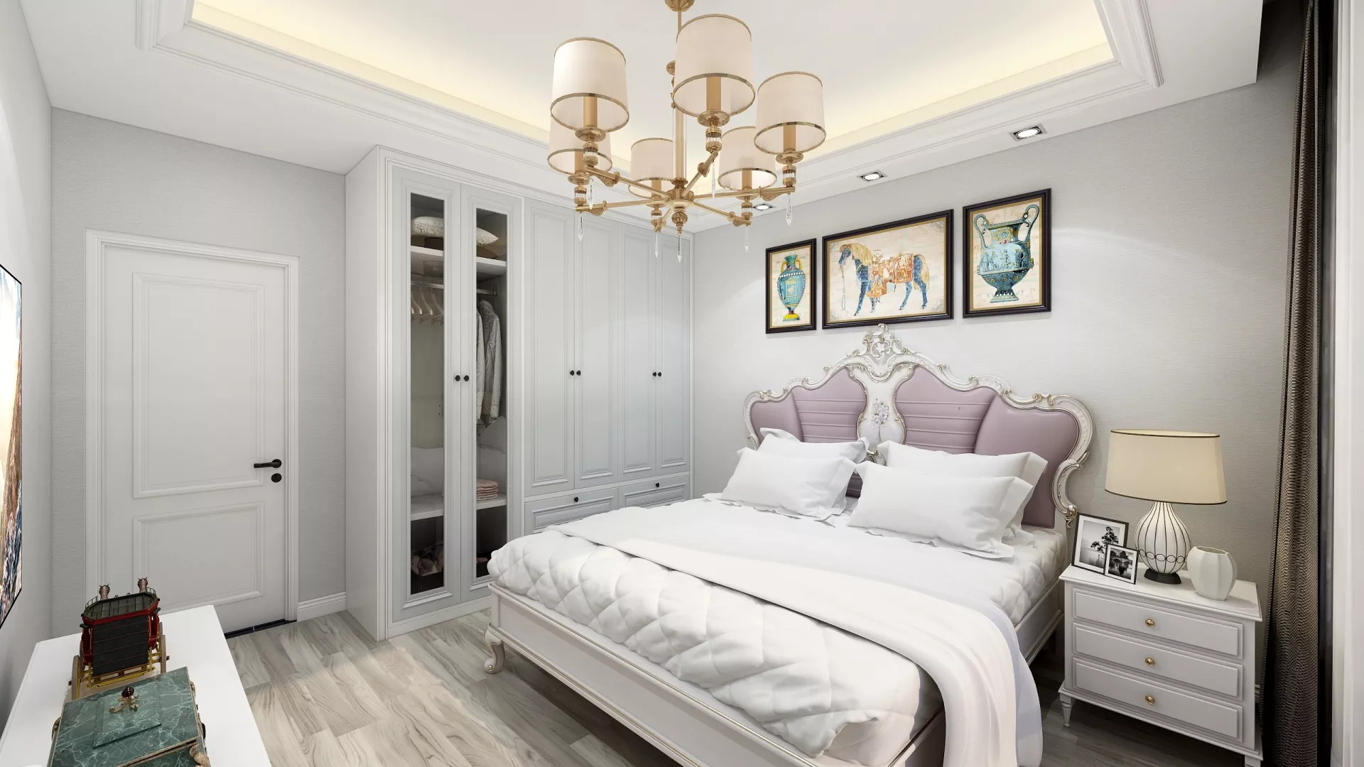 三居室现代风格装修设计效果图