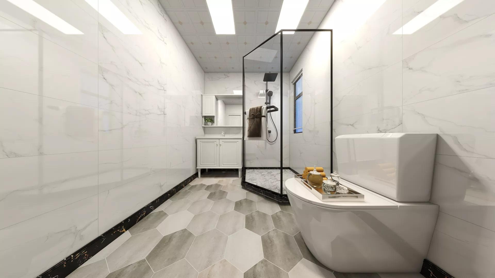 140平东南亚风格三居室家居装修布置效果图