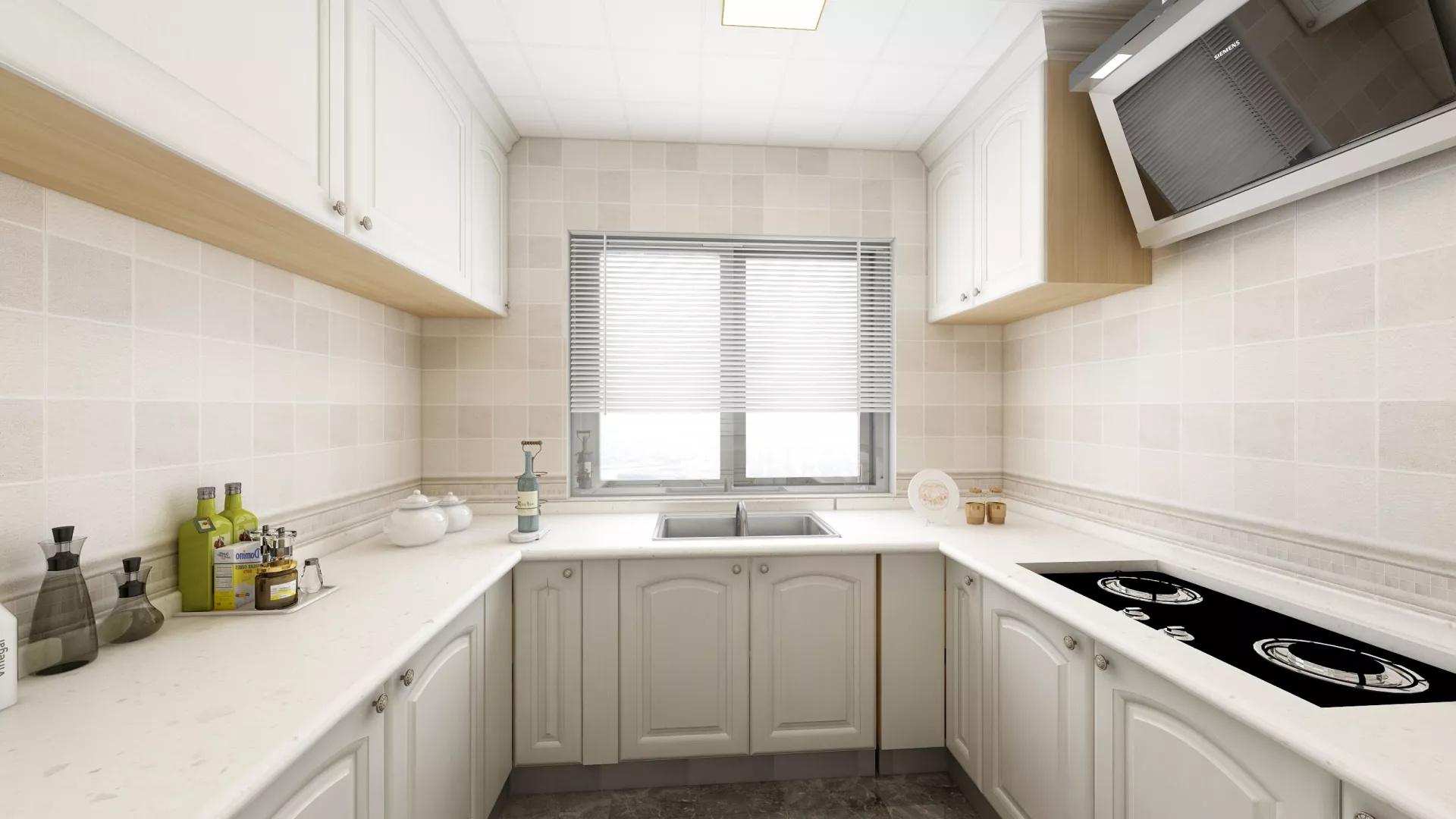 低奢现代风简欧风家居装修设计效果图
