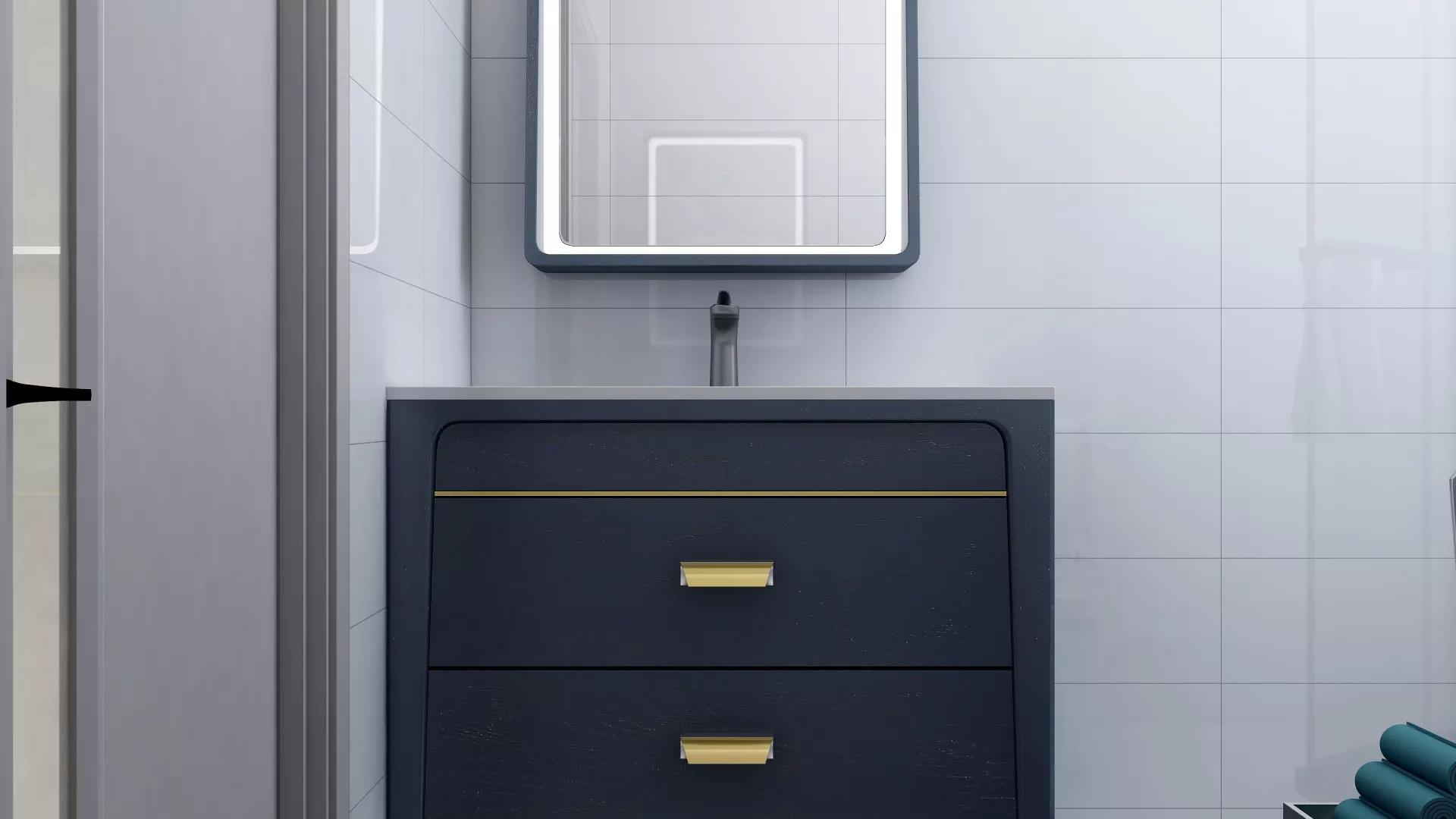 90㎡现代简约风格家居装修效果图