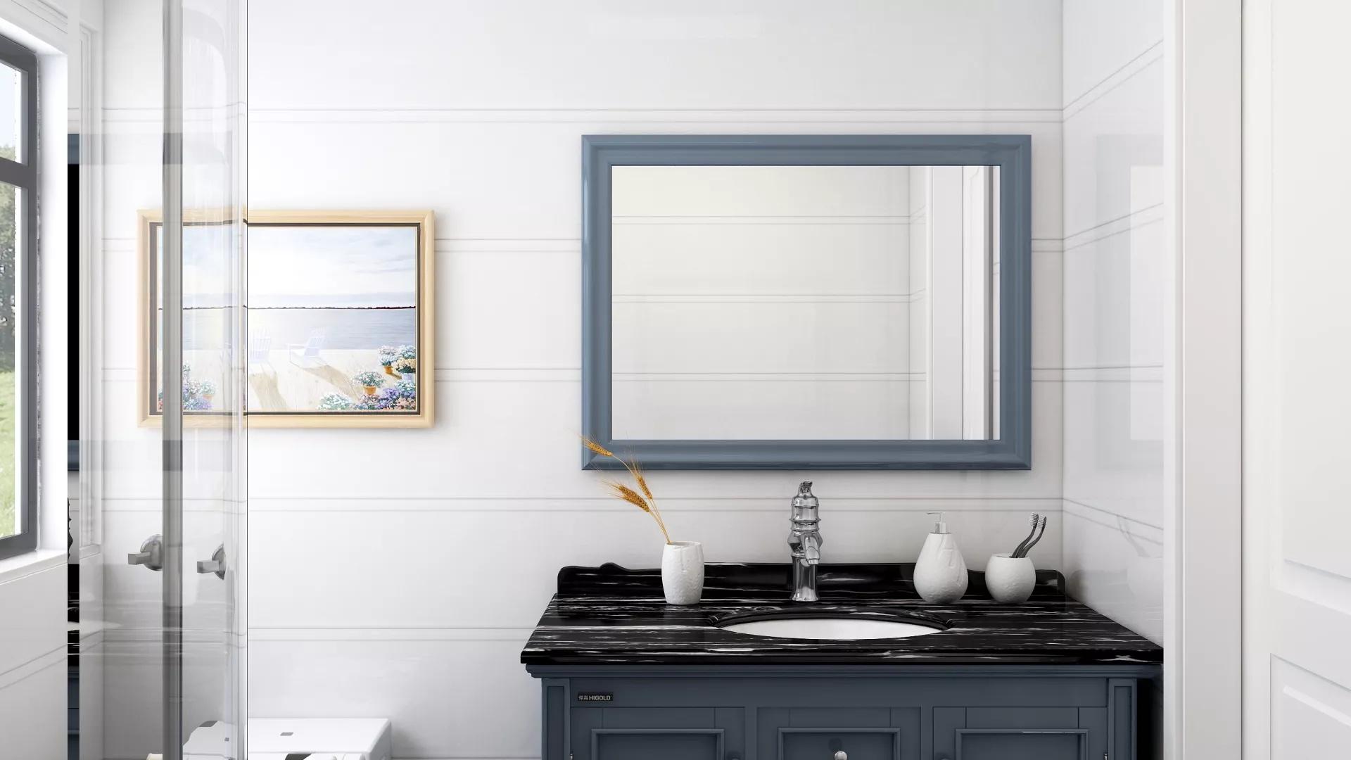 136㎡欧式风格三居室装修效果图