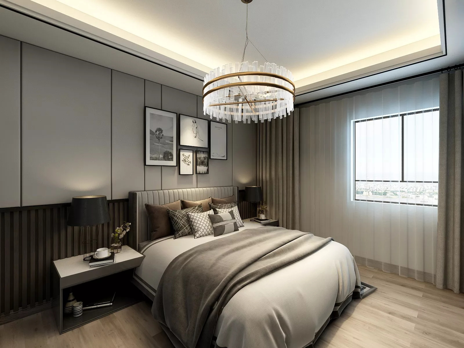 103m²北欧风格家居装修效果图