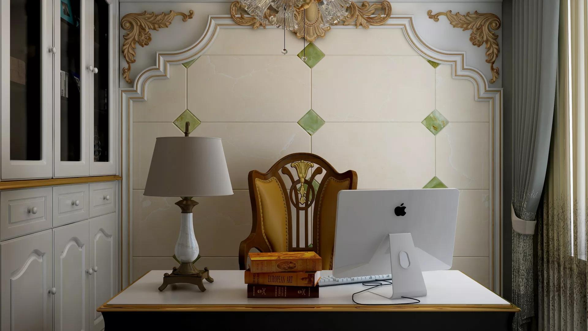 简洁舒适风格别墅露台设计