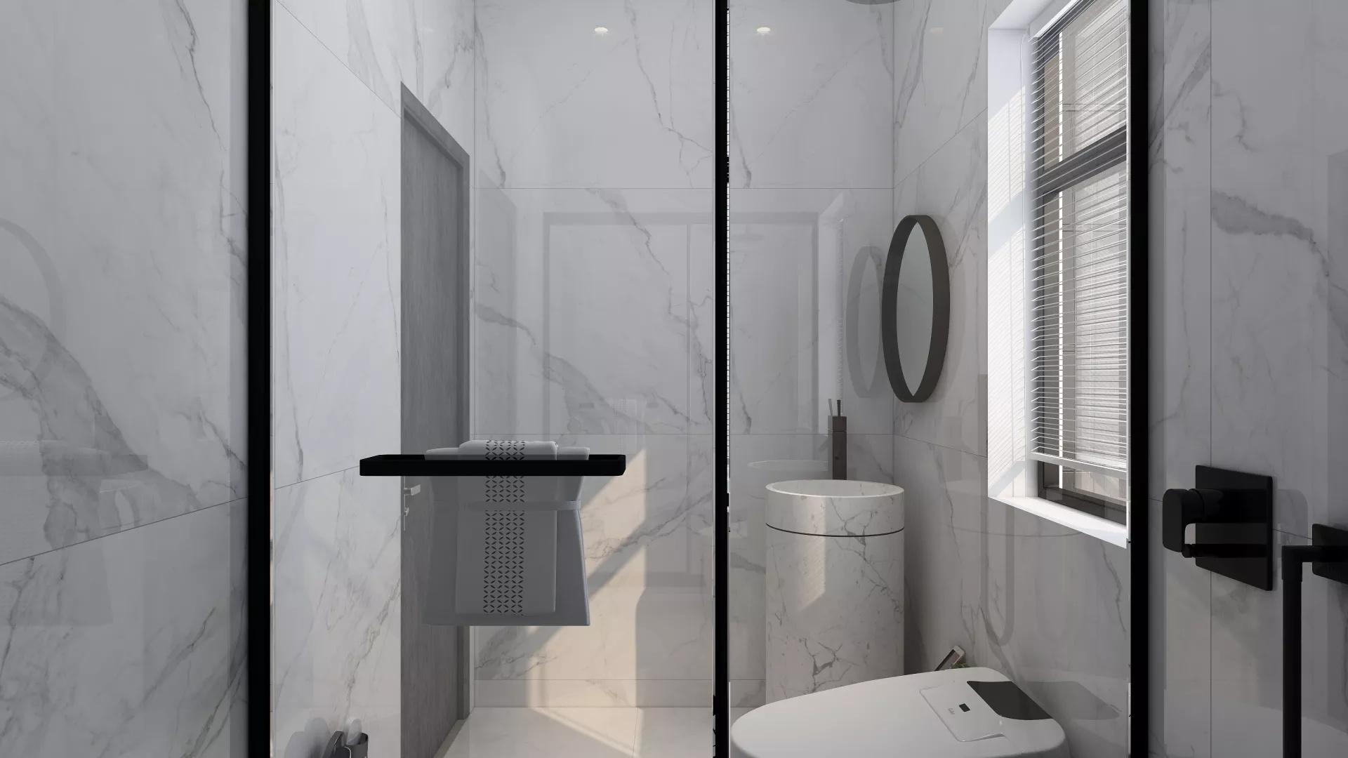 时尚白色大气风格客厅装修效果图
