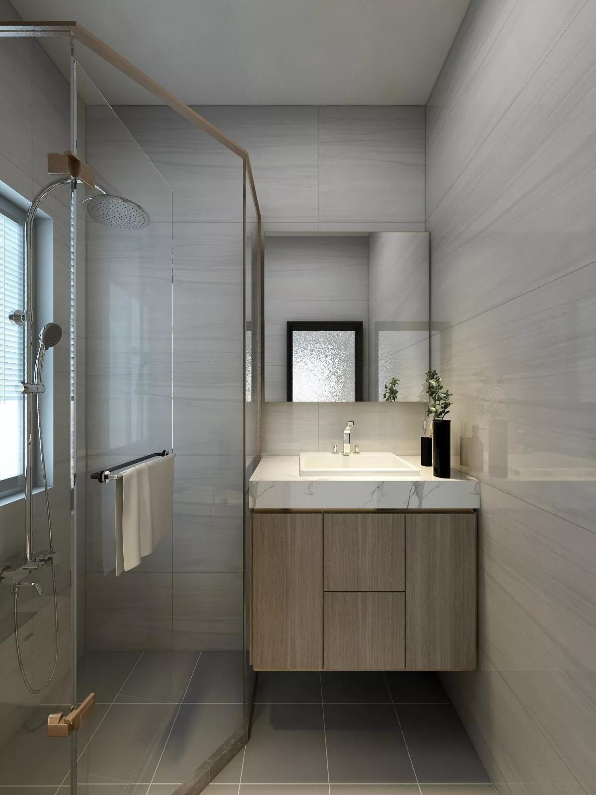 现代化舒适简洁风格餐厅设计效果图