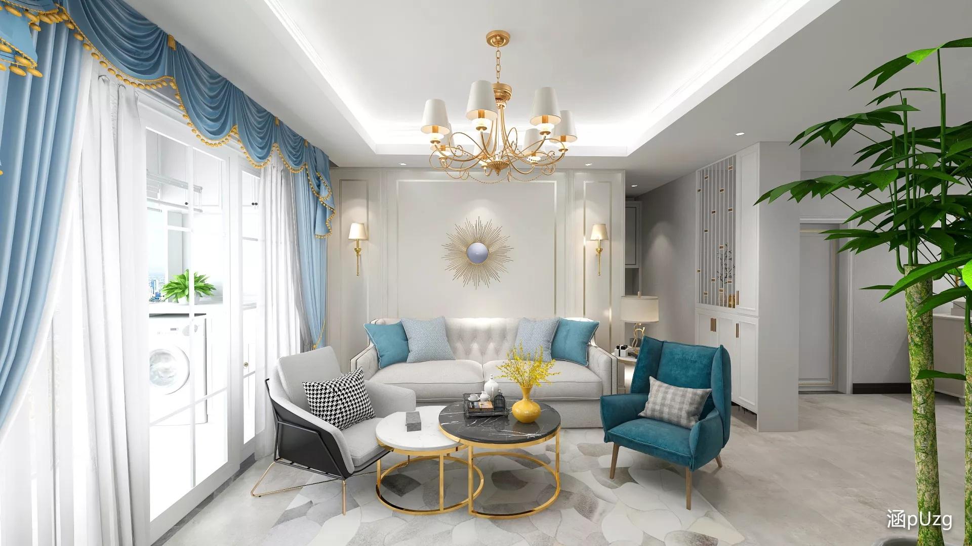 豪华型奢华大气风格卧室装修效果图