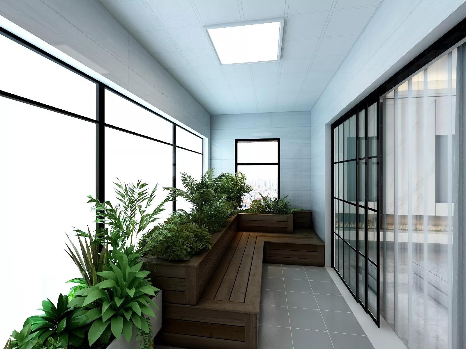 美式乡村风格富裕型客厅装修效果图