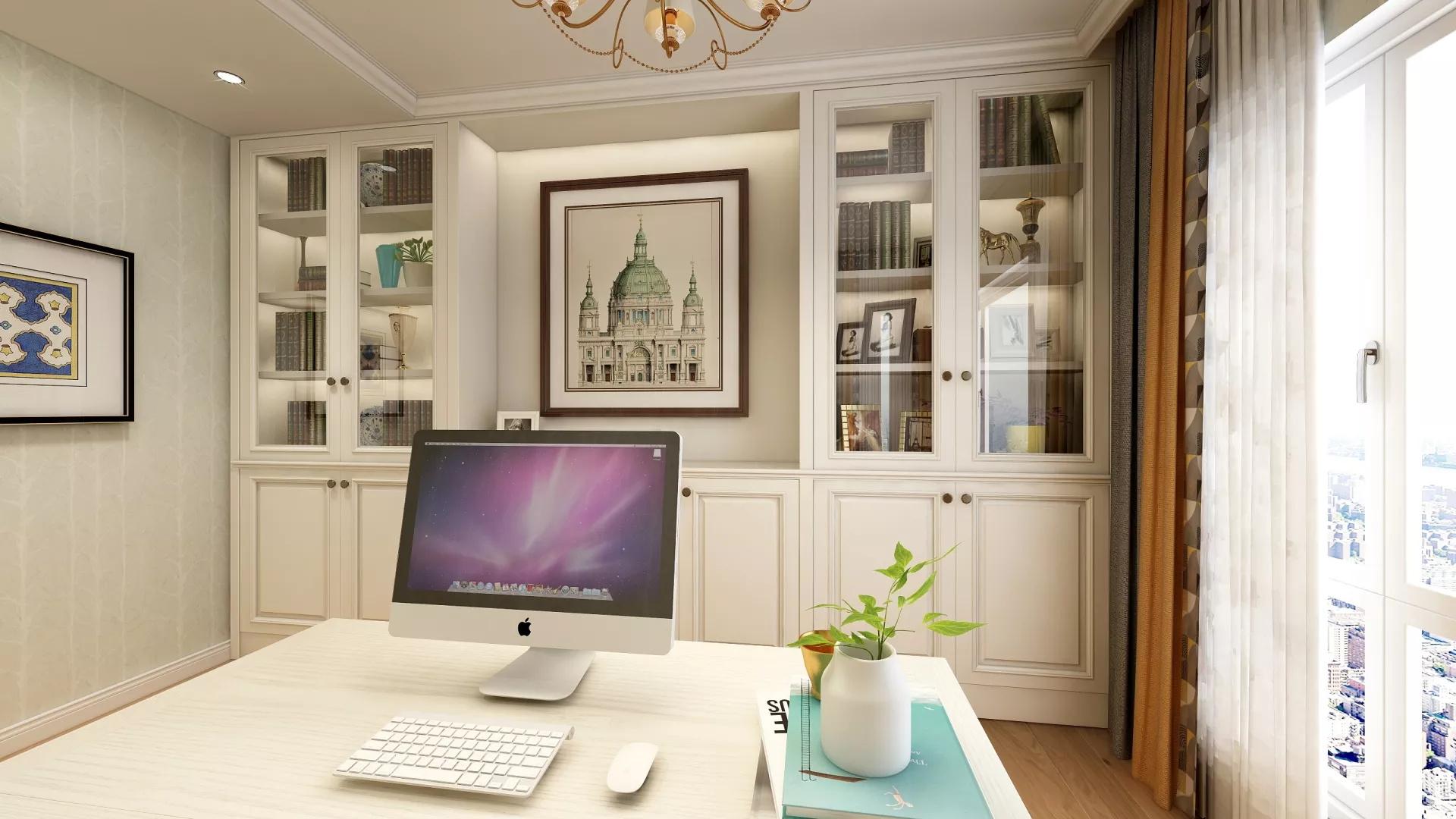 新古典风格别墅客厅装饰图