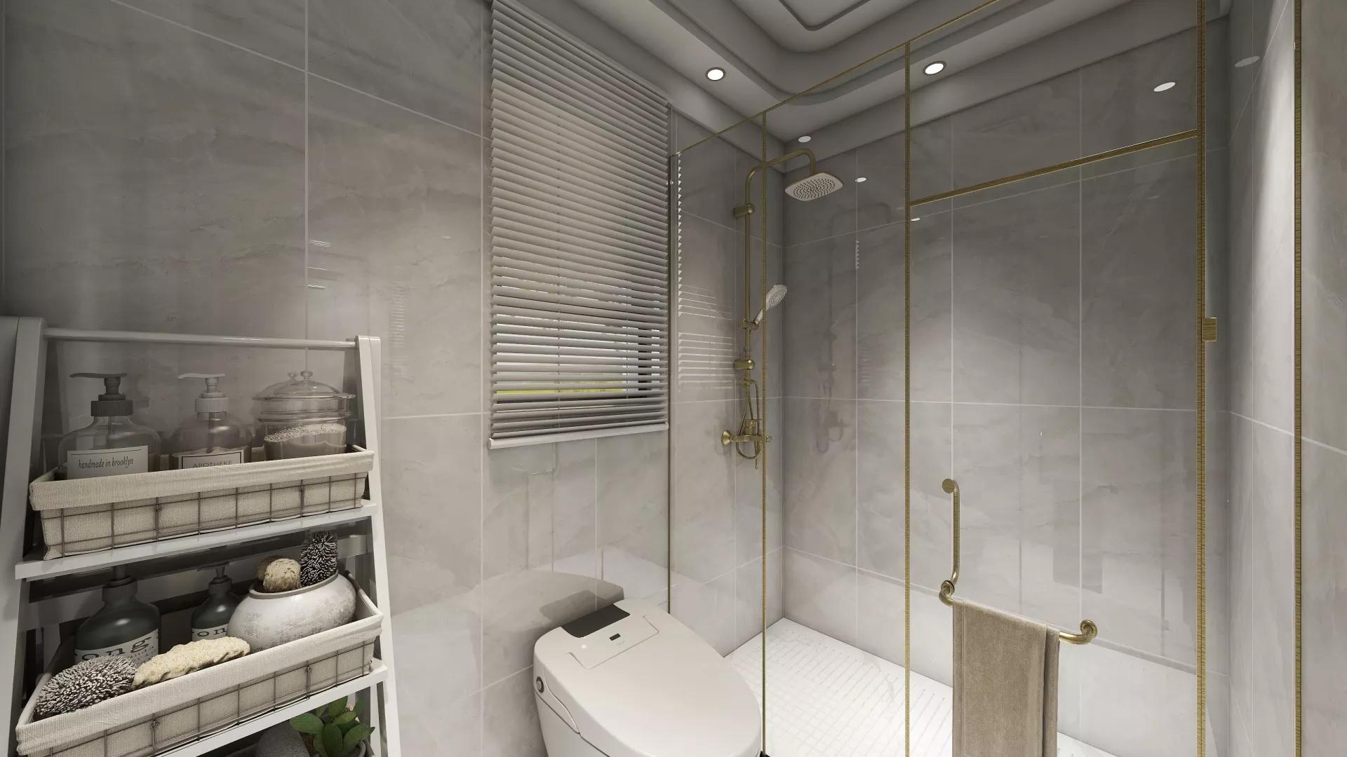 宜家风格简约原木风两居室装修全景效果图
