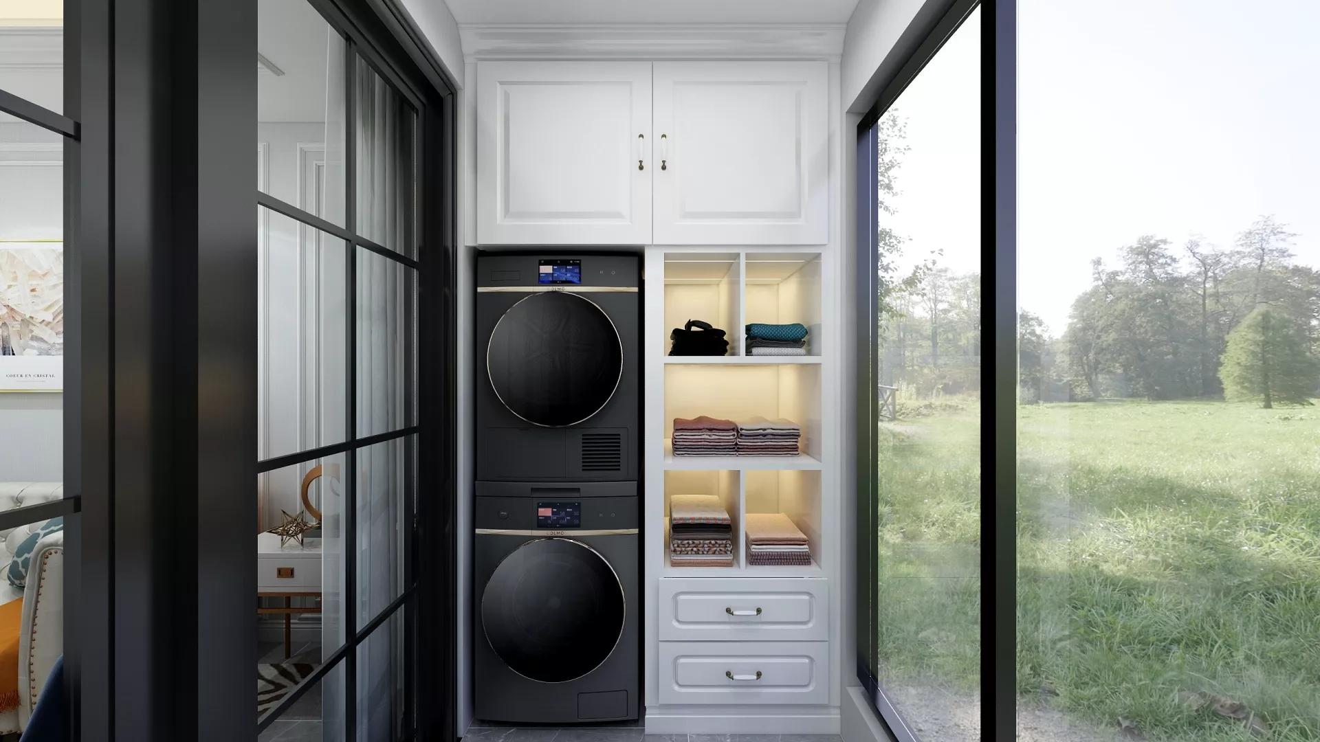 100㎡现代简约风格混搭装修室内设计效果图