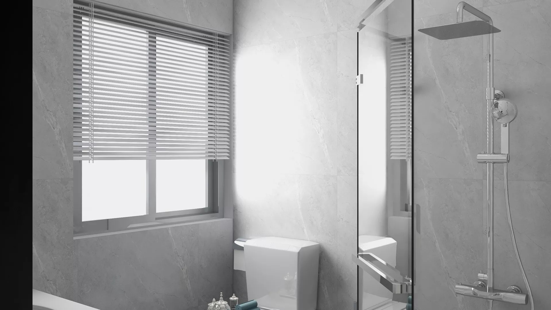 130平美式风格公寓装修设计效果图